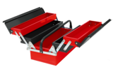 Three-tier five-cell portable toolbox -JS-09B