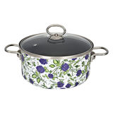 Enamel Non-stick Saucepot With Lid -JN-716