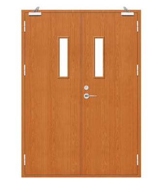 Fire Rated Wood door-JFD-821