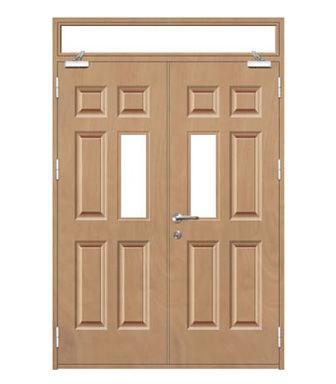 Fire Rated Wood door-JFD-823