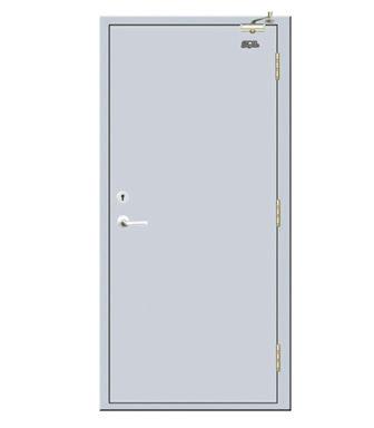 Fire Rated Steel door-JFD-LX004