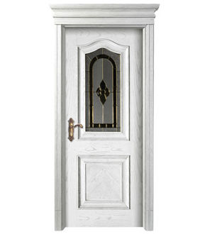 Solid Wood Door-JO-019-1