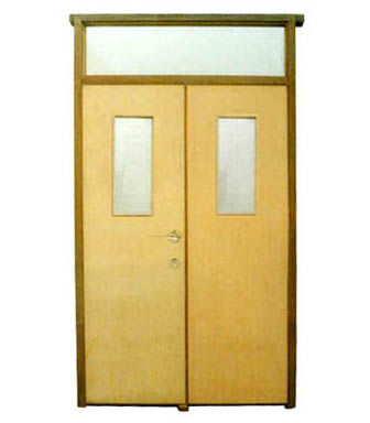 Fire Rated Wood door-JFD-LX1005