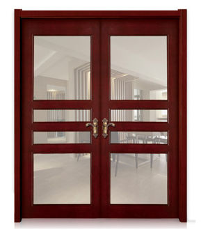 Solid Wood Door-JC-005