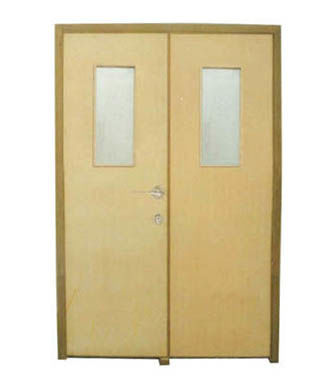 Fire Rated Wood door-JFD-LX1006