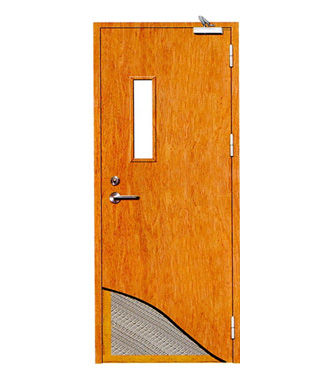 Fire Rated Wood door-JFD-813