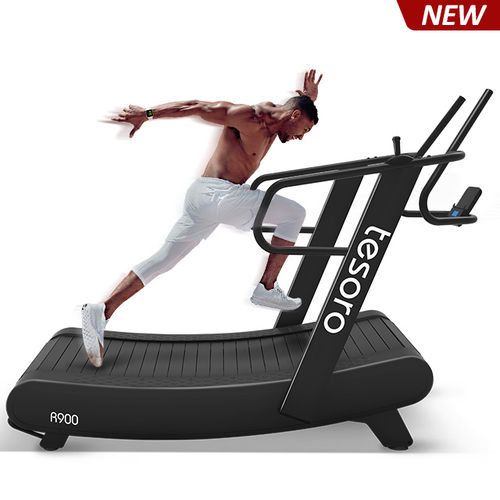 2019 new non-motorized curved treadmill no maintance required just like running outside-R900