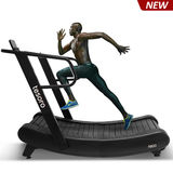 2019 new non-motorized curved treadmill no maintance required just like running outside-R800
