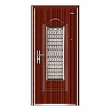 Steel interior door  -Copper door in door window LY-723