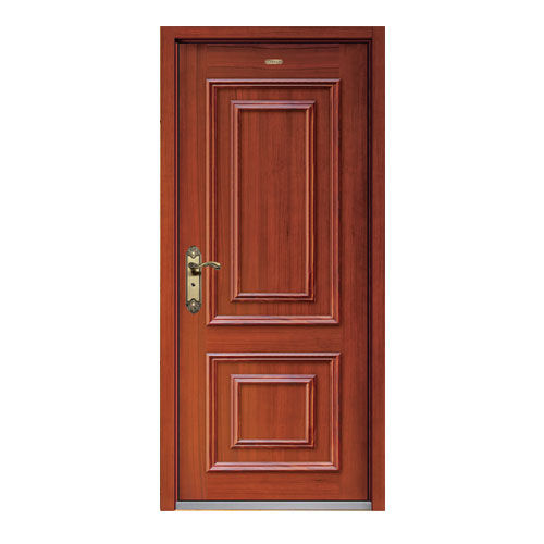 Steel wood armored door-LY-B-01