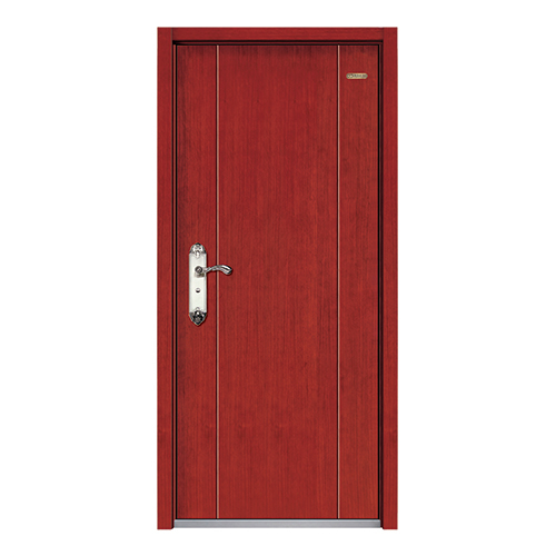 Steel wood armored door-LY-B-10