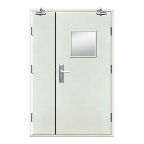 Fire doors-Flat Fire Picture门(Affirmative glass window)
