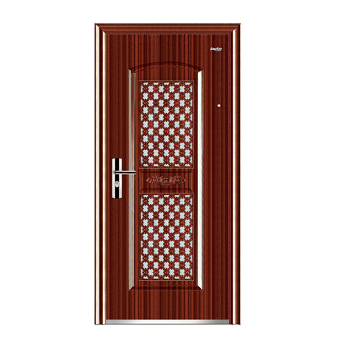 Steel interior door -Double window door in door LY-756