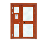 Building door -6023A(Imitation copper Splicing door)