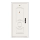 Steel interior door  -longyun  Security doors (Milky white) (D class)