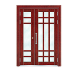Building door -6022A(Imitation wood - Brazil red sandalwood wood)
