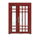 Building door-6022A(Imitation wood - Brazil red sandalwood wood)