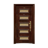 Security doors -LP-001-(A Class)--oak