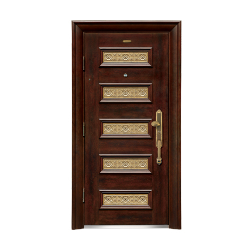 Security doors-LP-001-(A Class)--oak