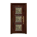 Security doors -LP-002-(A Class)--oak