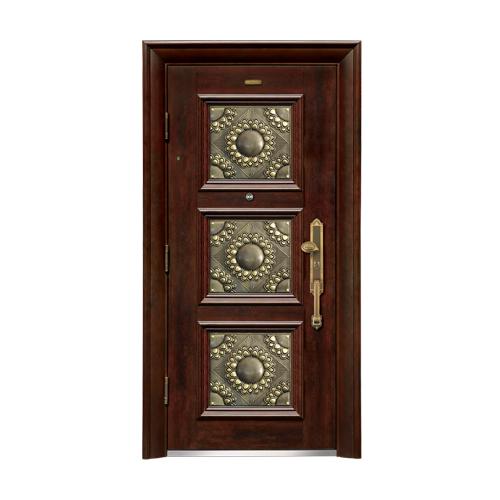 Security doors-LP-002-(A Class)--oak