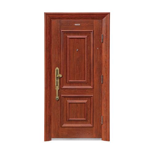 Security doors-BP-002-(A Class)--summer oak