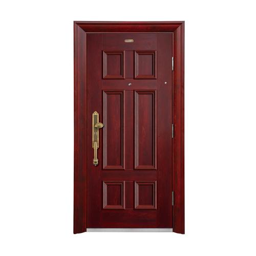 Security doors-BP-001-(A Class)--Red oak