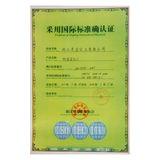 Using international standard certification