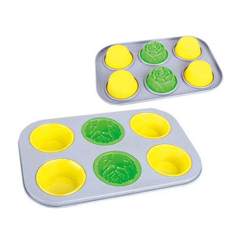 6 Cup Multi Cake Pan-BK-MS010