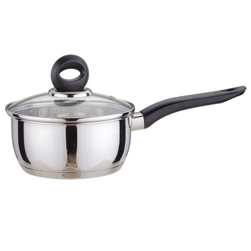 Milk pan with lid-0114SS-0416
