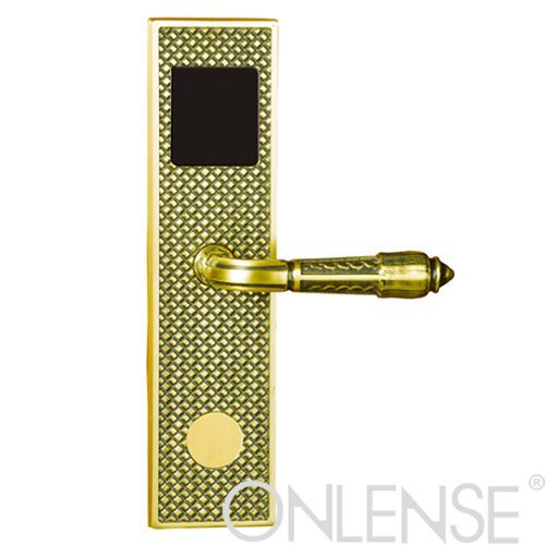 Hotel brass door lock-9614RF