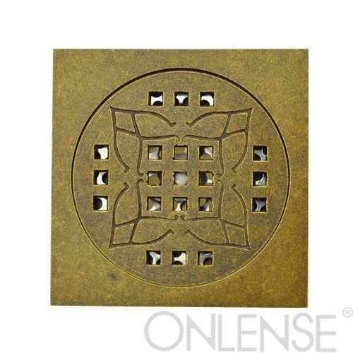 Pure copper floor drain-BD03NB