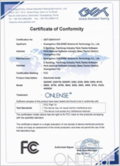 Guangzhou ONLENSE Science& Technology Co.Ltd