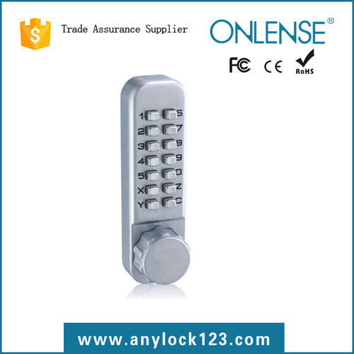 mechanical push button door lock-2120