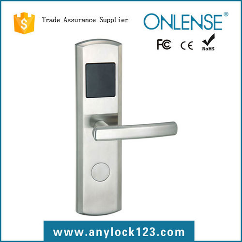 Stainless steel hotel lock-9510