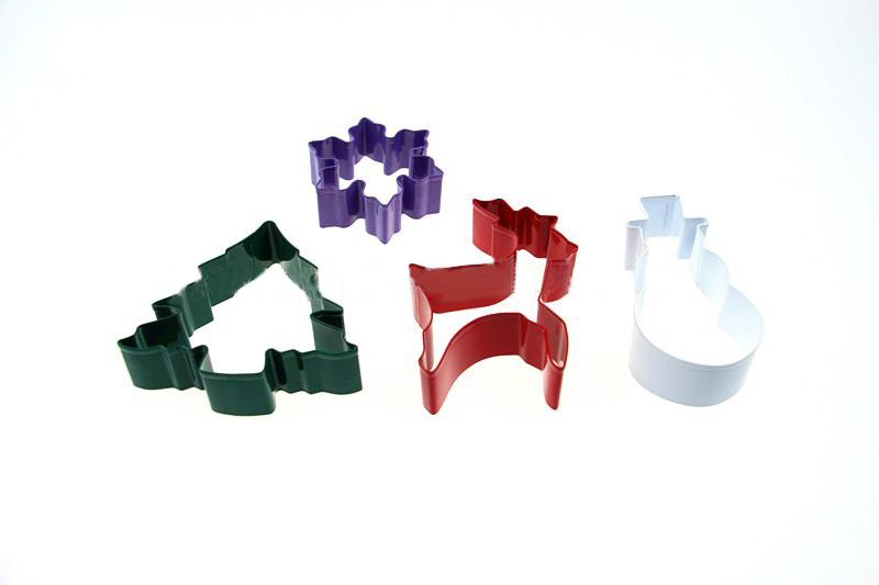 Colorful Stainless Steel Christmas Cookie Cutter Set-SK-001