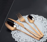 Gold Plated Dinner Set -ZZ-002