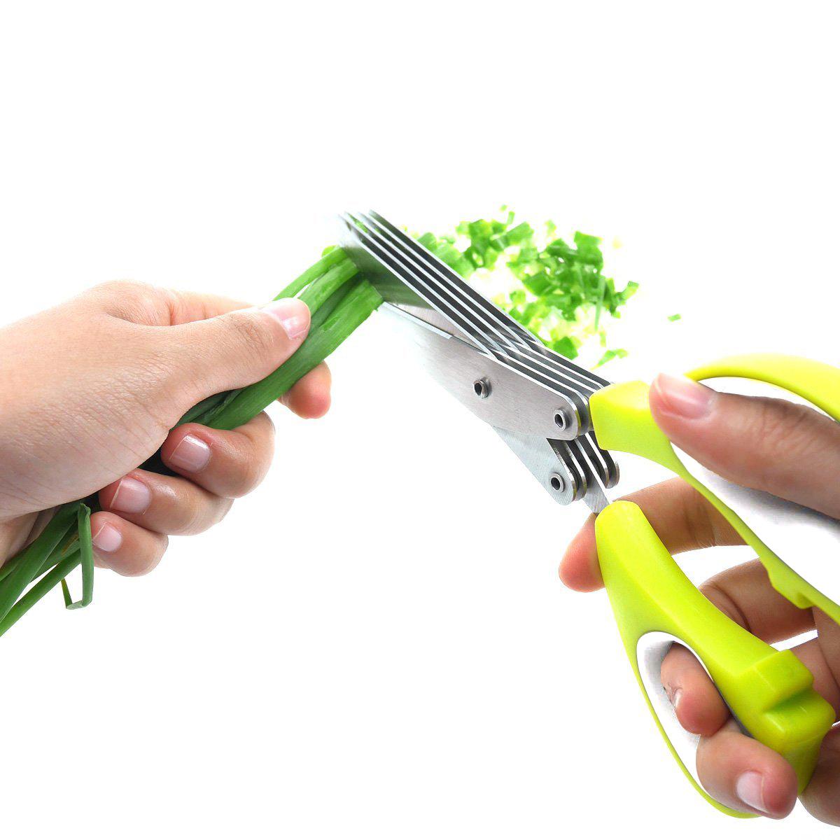 bladed herbal scissors-