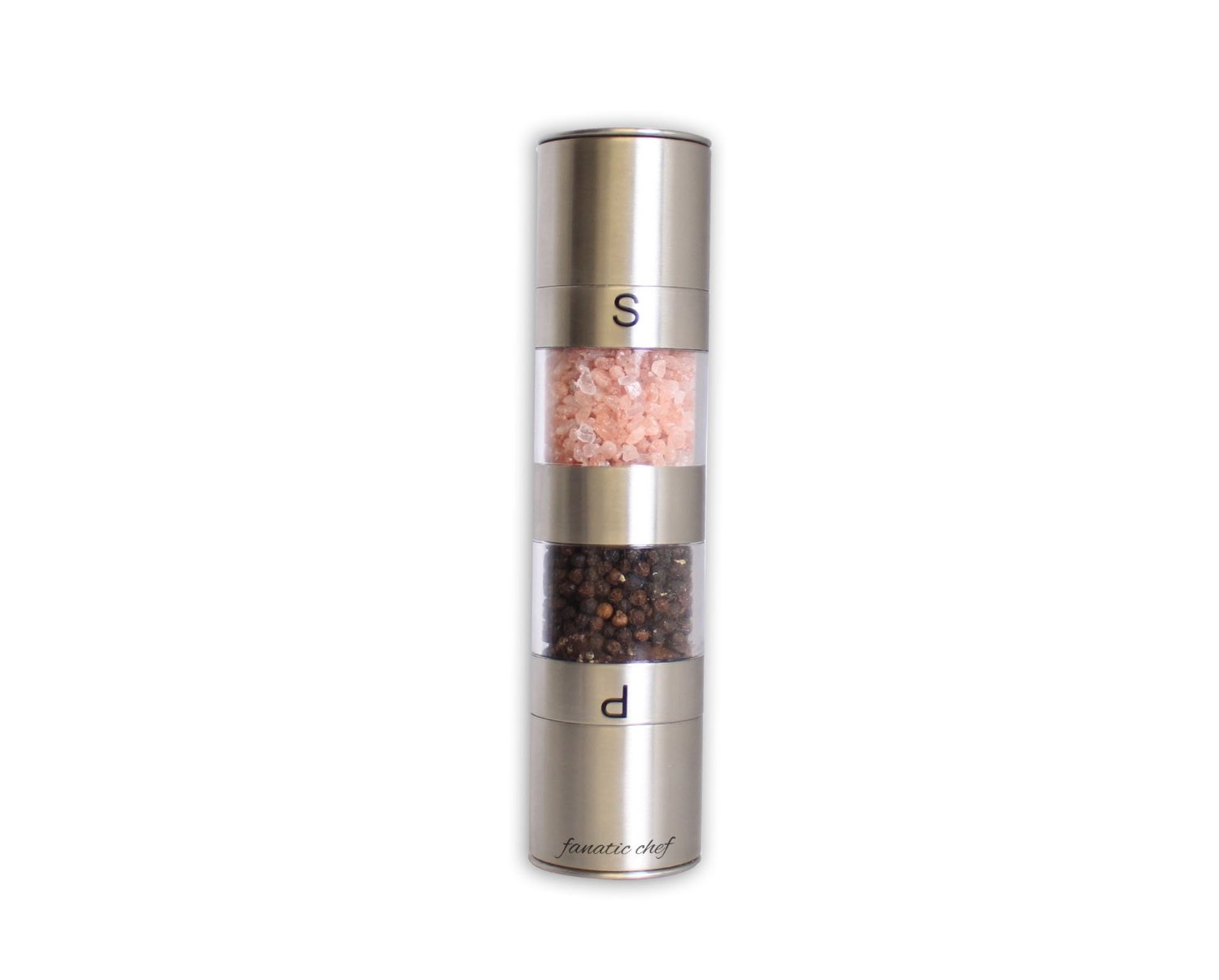 stainless steel pepper grinder-