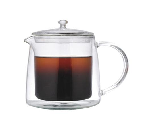Glass blunt tea ware-P406