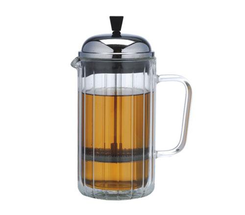 Glass blunt tea ware-P402
