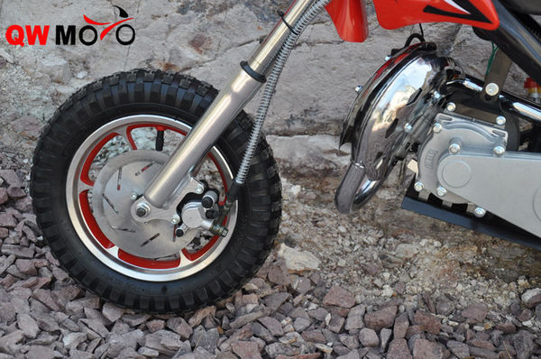 Wheels for 49CC mini dirt-