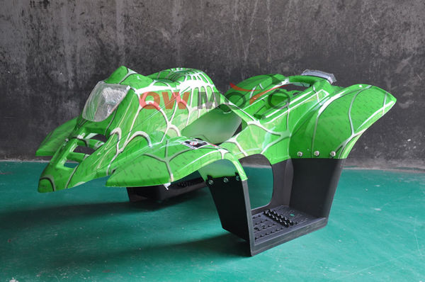Plastic cover for 110cc ATV-