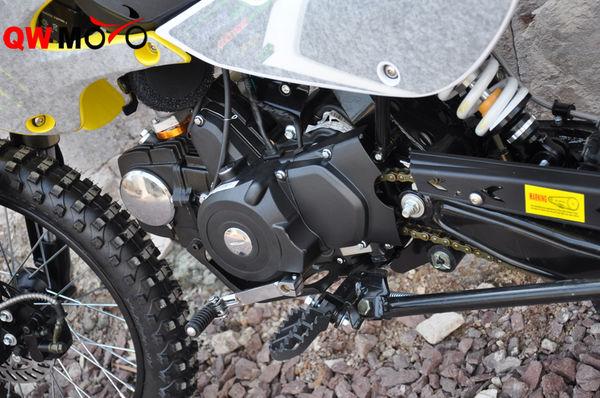 125CC manual clutch E & Kick start-