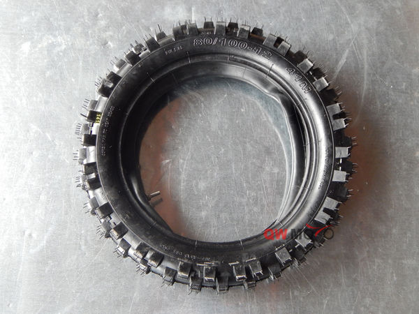 80/100-12 Tires and Inner tubes-