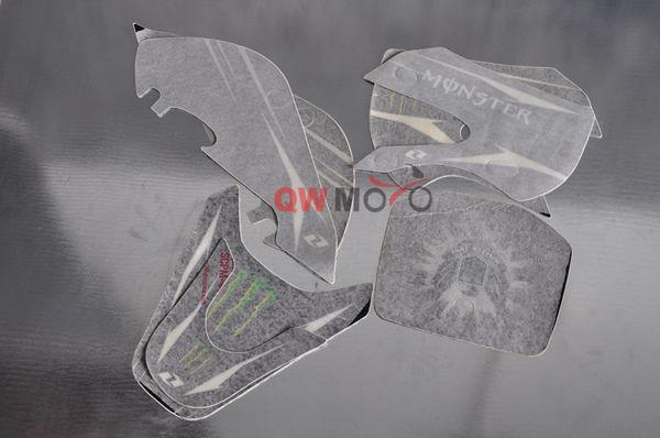 KLX Style Dirt Bike Graphics-