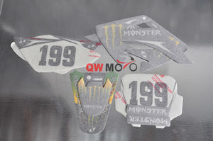 CRF Style Dirt Bike Graphics -