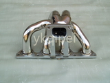 Racing header and manifold -G19-3-CIVBRT-T25T28