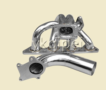 Racing header and manifold-G19-5-H23BRT-DP