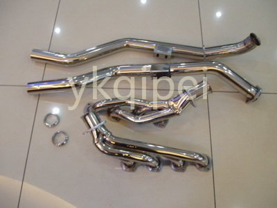 Racing header and manifold-G51E